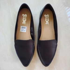 BRASH NWT pointed loafers